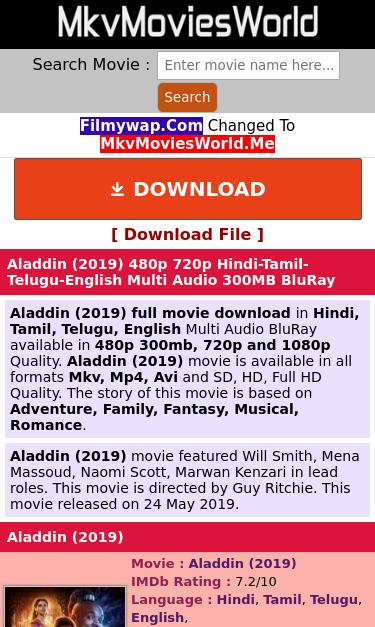 film.mkvmoviesworld.me/aladdin-2019 SEO Report   SEO Site Checkup