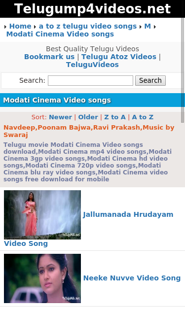 teluguwap mp4 video songs free download