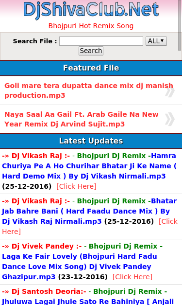 Try These Bhojpuri Video Dj Par Ke Mp3 {Mahindra Racing}