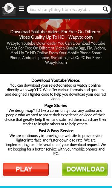 wapytd com SEO Report | SEO Site Checkup