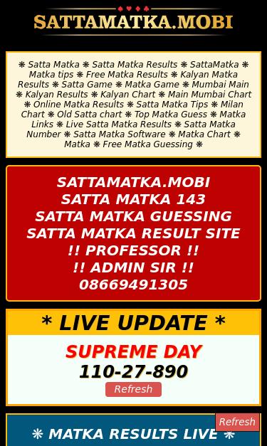 satamatka mobi SEO Report | SEO Site Checkup