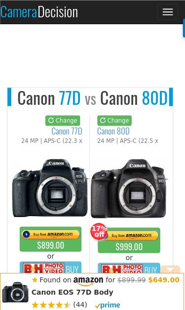 cameradecision com/compare/canon-eos-77d-vs-canon-eos-80d