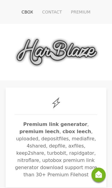 harblaze com/cbox html SEO Report | SEO Site Checkup