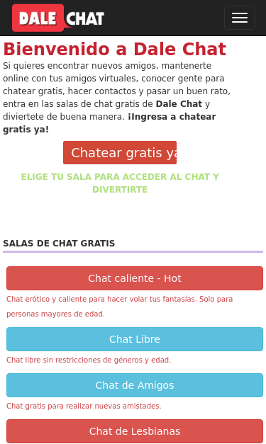 Chat con Webcam gratis y sin registro