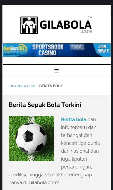 Gilabola Com Berita Bola Seo Report Seo Site Checkup