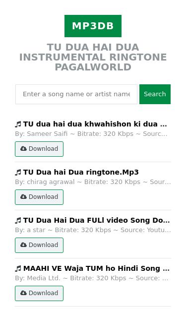 maahi ve unplugged mp3 ringtone download