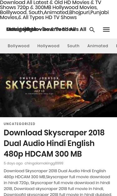 download movie skyscraper dual audio hd