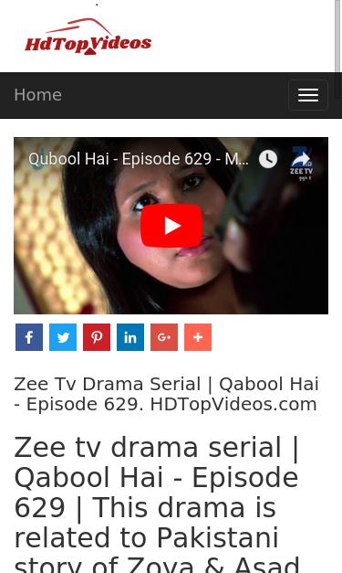 hdtopvideos com video 7678 zee tv drama serial qabool hai episode 629 seo report seo site checkup seo site checkup